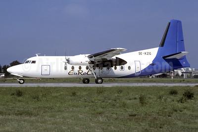 EuReCa - European Regional Carrier Fokker F.27 Mk. 100 SE-KZG (msn 10287) LIN (Christian Volpati Collection). Image: 951410.