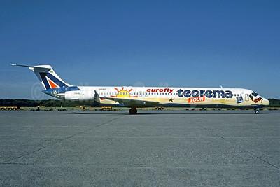 Eurofly's 2001 Teorema Tour special livery