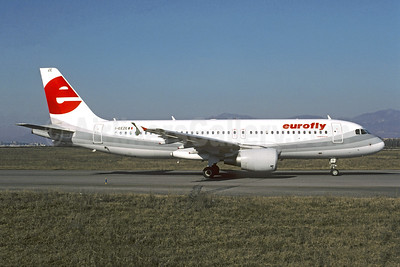 Eurofly Airbus A320-214 I-EEZE (msn 1937) BLQ (Christian Volpati Collection). Image: 946535.