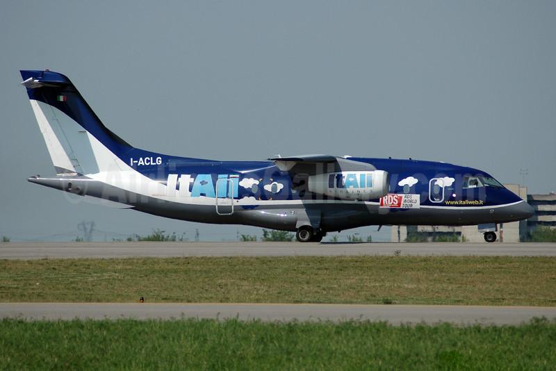 ItAli Airlines Dornier 328-300 (328JET) I-ACLG (msn 3133) (Gandalf colors) BLQ (Marco Finelli). Image: 927348.