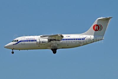 Italiatour Airlines Avro (BAe) RJ85 I-CLBA (msn E2300) BLQ (Marco Finelli). Image: 903291.