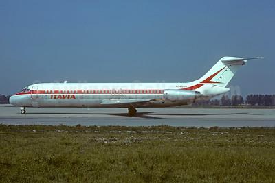 Itavia McDonnell Douglas DC-9-33CF N7465B (msn 47465) (Balair stripe) LIN (Christian Volpati Collection). Image: 925743.