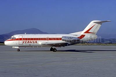 Itavia Fokker F.28 Mk. 1000 I-TIDB (msn 11006) (Jacques Guillem Collection). Image: 939567.