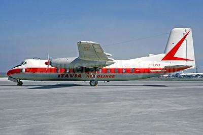 Damaged beyond repair on landing at Rome Ciampino on November 4, 1970