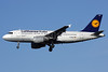 Lufthansa Italia Airbus A319-114 D-AILH (msn 641) LHR (Antony J. Best). Image: 903993.