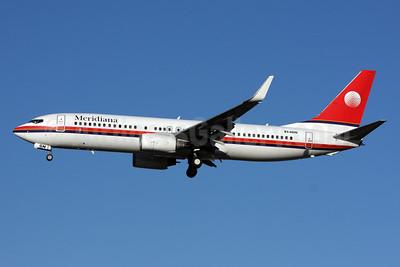 Meridiana Boeing 737-84P WL EI-IGN (msn 35074) LGW (SPA). Image: 925445.