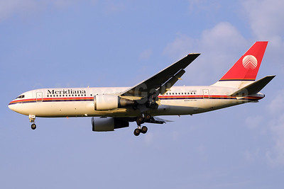 Meridiana Boeing 767--23B ER I-AIGH (msn 23973) BLQ (Marco Finelli). Image: 936914.
