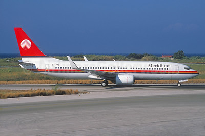 Meridiana Boeing 737-85F WL EI-FFW (msn 30477) RHO (Jacques Guillem Collection). Image: 933859.