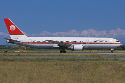 Meridiana Boeing 767-304 ER I-AIGG (msn 28041) (Jacques Guillem Collection). Image: 933861.