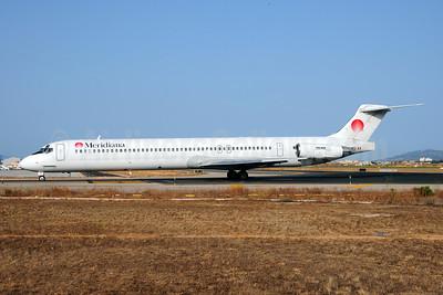 Meridiana McDonnell Douglas DC-9-82 (MD-82) I-SMEB (msn 53064) PMI (Ton Jochems). Image: 909211.