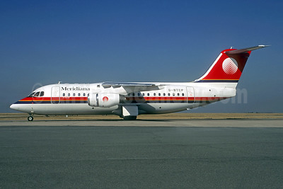 Meridiana BAe 146-200 G-BTCP (msn E2178) CDG (Christian Volpati). Image: 944132.