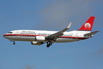Meridiana (Air Italy) Boeing 737-36N WL EI-IGS (msn 28562) LGW (Keith Burton). Image: 934774.