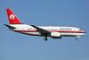 Meridiana Boeing 737-73S EI-FFM (msn 29082) LGW (Keith Burton). Image: 930094.