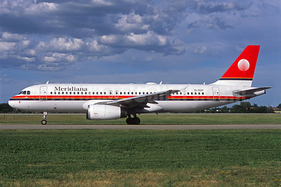 Meridiana Airbus A320-232 EI-EZT (msn 1896) (Jacques Guillem Collection). Image: 921527.
