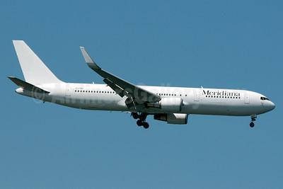Meridiana Boeing 767-304 ER WL EI-FMR (msn 28042) JFK (Fred Freketic). Image: 933863.
