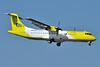 Mistral Air-Gruppo Posteitaliane (NAC) ATR 72-212 (F) OY-CNJ (msn 414) FCO (Karl Cornil). Image: 923288.