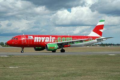 MyAir (myair.com)-LTE International Airways Airbus A320-214 EC-JHJ (msn 1775) BLQ (Marco Finelli). Image: 900671.