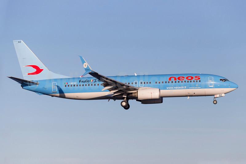 Neos Boeing 737-86N SSWL I-NEOZ (msn 34257) (Radio Italia) ARN (Stefan Sjogren). Image: 940149.