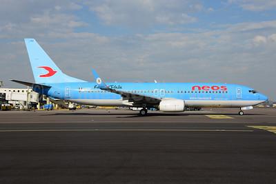 Neos Boeing 737-86N WL I-NEOU (msn 29887) (Radio Italia) AMS (Ton Jochems). Image: 922301.