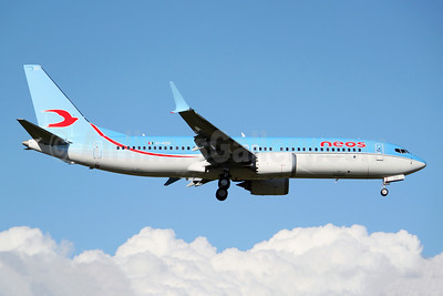 Neos Boeing 737-8 MAX 8 EI-RZD (msn 43582) BFI (Joe G. Walker). Image: 953837.