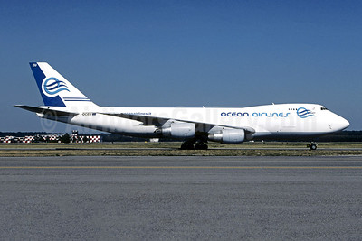 Ocean Airlines (Italy) Boeing 747-230F I-OCEU (msn 22668) (Christian Volpati Collection). Image: 944928.