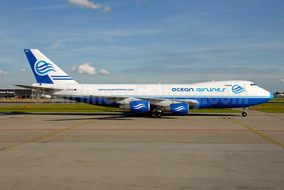 Ocean Airlines (Italy) Boeing 747-230F I-OCEA (msn 21592) AMS (Ton Jochems). Image: 954311.
