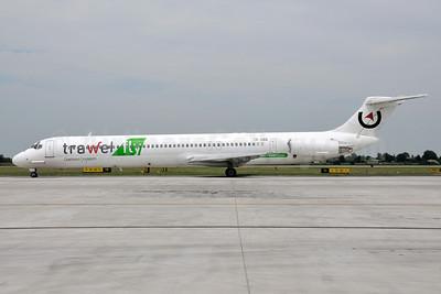 Trawel fly (Medallion Air) McDonnell Douglas DC-9-83 (MD-83) YR-HBE (msn 49396) BLQ (Lucio Alfieri). Image: 906676.