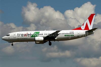 Trawel fly (Mistral Air) Boeing 737-436 EI-DMR (msn 25851) PMI (Javier Rodriguez). Image: 906586.
