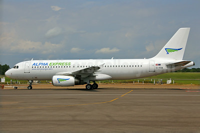 The Latvian charter airline's first Airbus A320