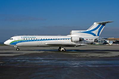 LatCharter Airlines Yakovlev Yak-42D YL-LBT (msn 4520424404018) ZRH (Rolf Wallner). Image: 955456.