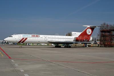 Latpass Airlines Tupolev Tu-154B-2 YL-LAB (msn 515) RIX (Ton Jochems). Image: 953086.