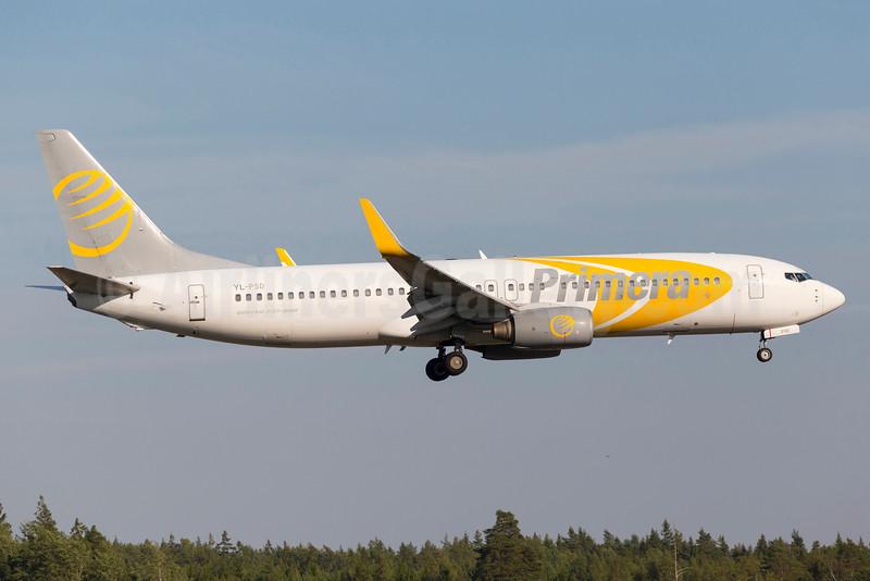 Primera Air (Nordic) Boeing 737-86N WL YL-PSD (msn 28618) ARN (Stefan Sjogren). Image: 934519.