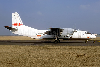 RAF Avia - DHL Worldwide Express Antonov An-26B YL-RAB (msn 10508) (Christian Volpati Collection). Image: 943674.