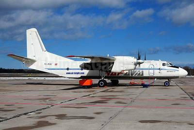 RAF Avia - Air Bright Antonov An-26B YL-RAI (msn 10103) RIX (Ton Jochems). Image: 927142.