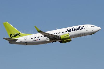 airBaltic Boeing 737-36Q WL YL-BBX (msn 30334) ZRH (Andi Hiltl). Image: 939039.