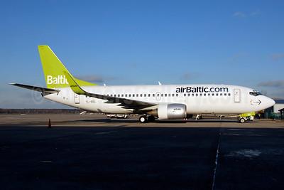 airBaltic (airBaltic.com) Boeing 737-33V WL YL-BBL (msn 29334) RIX (Ton Jochems). Image: 900760.