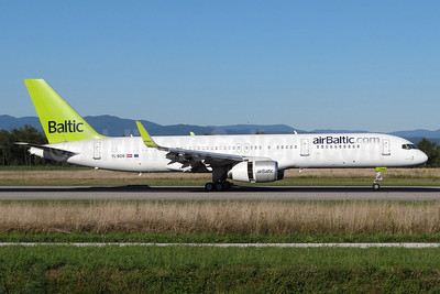 airBaltic (airBaltic.com) Boeing 757-256 WL YL-BDB (msn 26251) BSL (Paul Bannwarth). Image: 922218.