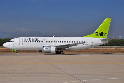 airBaltic (airBaltic.com) Boeing 737-31S YL-BBS (msn 29267) AYT (Ton Jochems). Image: 903663.