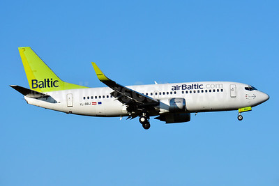 airBaltic (airBaltic.com) Boeing 737-36Q WL YL-BBJ (msn 30333) ZRH (Paul Bannwarth). Image: 928589.