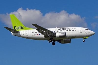 airBaltic (airBaltic.com) Boeing 737-522 YL-BBM (msn 26680) ZRH (Paul Bannwarth). Image: 924076.