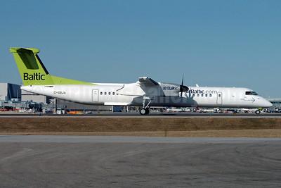 airBaltic (airBaltic.com) Bombardier DHC-8-402 (Q400) C-GBJA (YL-BAH) (msn 4296) YYZ (TMK Photography). Image: 904749.