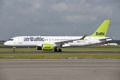 airBaltic Airbus A220-300 (Bombardier CS300 - BD-500-1A11) YL-CSD (msn 55006) AMS (Ton Jochems). Image: 955060.