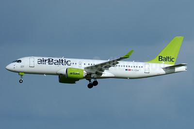 airBaltic Bombardier CS300 YL-CSA (msn 55003) BRU (Karl Cornil). Image: 938760.
