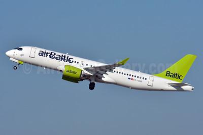 airBaltic Bombardier CS300 YL-CSD (msn 55006) ZRH (Paul Bannwarth). Image: 939702.