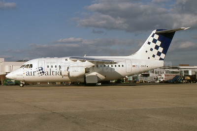 """Named """"Kurzeme"""" - Airline Color Scheme - Introduced 1995"""