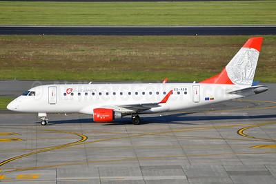 Air Lituanica (Estonian Air) Embraer ERJ 170-100LR ES-AEB (msn 17000106) BRU (Karl Cornil). Image: 912765.