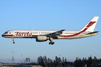 Aurela Aircompany Boeing 757-23N LY-SKJ (msn 30735) ARN (Stefan Sjogren). Image: 902016.