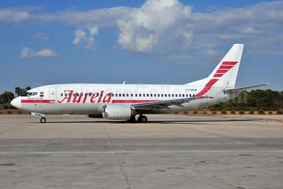 Aurela Aircompany Boeing 737-382 LY-SKW (msn 25162) PMI (Ton Jochems). Image: 903437.