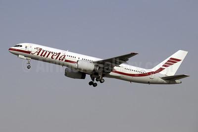 Aurela Aircompany Boeing 757-23N LY-SKJ (msn 30735) SHJ (Paul Denton). Image: 909666.
