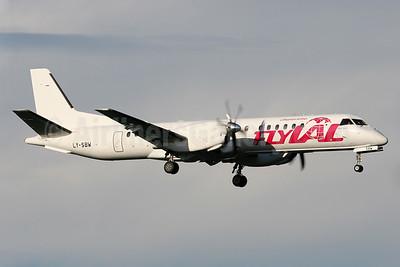 FlyLAL-Lithuanian Airlines SAAB 2000 LY-SBW (msn 045) ARN (Stefan Sjogren). Image: 940278.